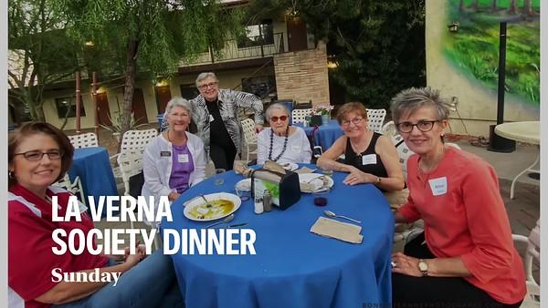 La  Verna Society Dinner