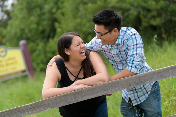 Danielle + John Engagement @ Schwan Lake, Santa Cruz