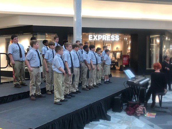 Primary and Middle School Music at Lakeside Mall 1/29/2020