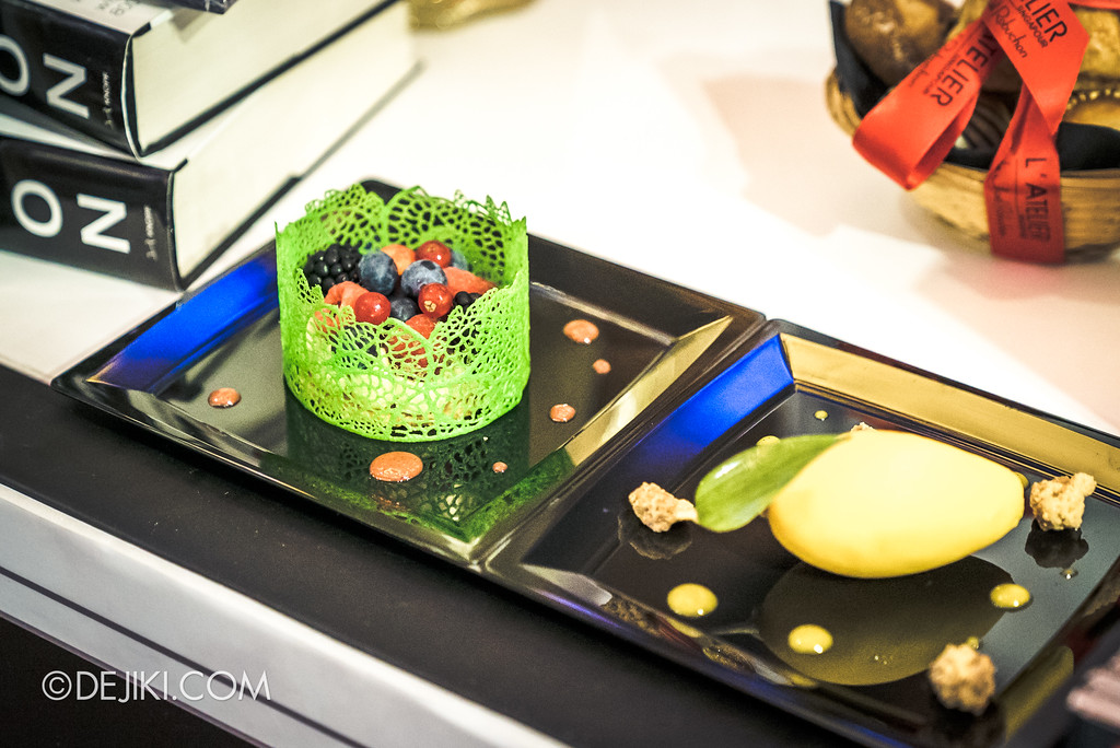 The Great Food Festival RWS - Rollin' Sweet Times / Joel Robuchon: Les Fruits Rouges and La Mangue Perroquet