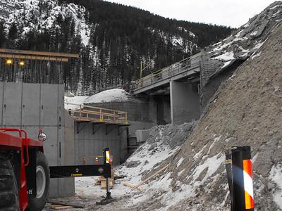 Stillwater Mine Surface Rail Dump