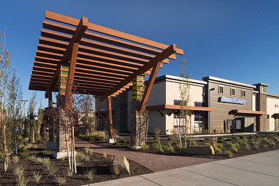 Robel Rd. Vlg. Shop. Cntr., Bend OR.  Clients:  Baysinger Partners Architecture, Portland & R&H Construction, Bend OR office.
