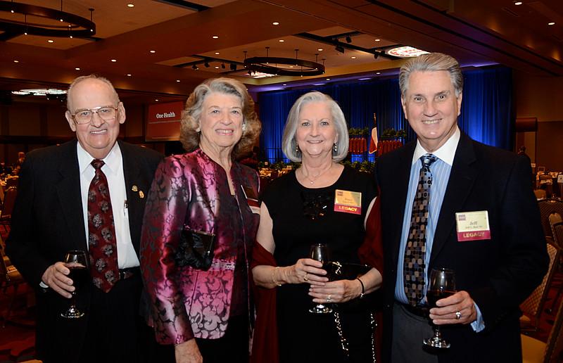 Mr. and Mrs. Bob Berger, Joan and Jeff Bott '65