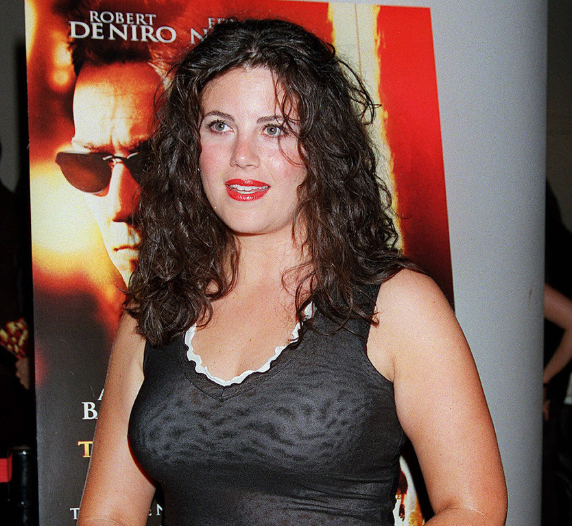 ". In this July 11, 2001, file photo, Monica Lewinsky arrives for a special screening of ""The Score\"" in New York.(AP Photo/Darla Khazei, File)"