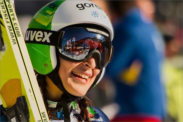 Ski jumping world cup Ljubno-Planica 2014 - ladies