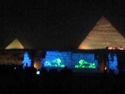 Giza Pyrmaids and Sphynx