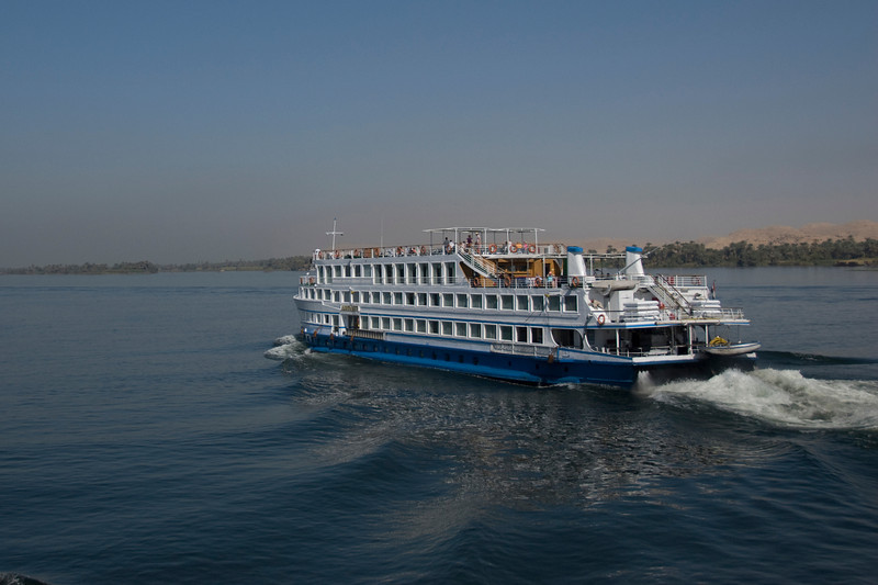 Cruise Boat along the Nile River - Nile, Egypt