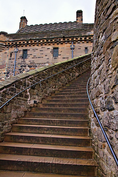 Lang Steps, Edinburgh Castle