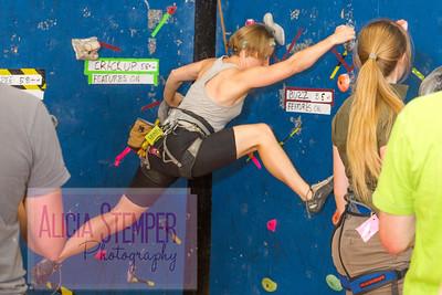 Tamara Rock Climbing