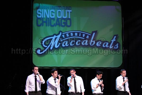 Maccabeats Chicago Concert 2011-03-13