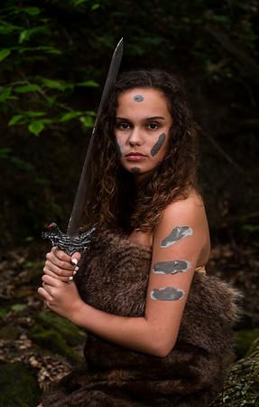 Hannah Warrior Princess