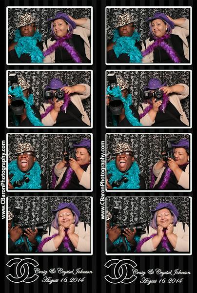 Crystal + Craig Swanky Photobooth