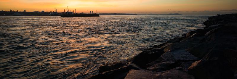 Bospherous Tanker at dawn