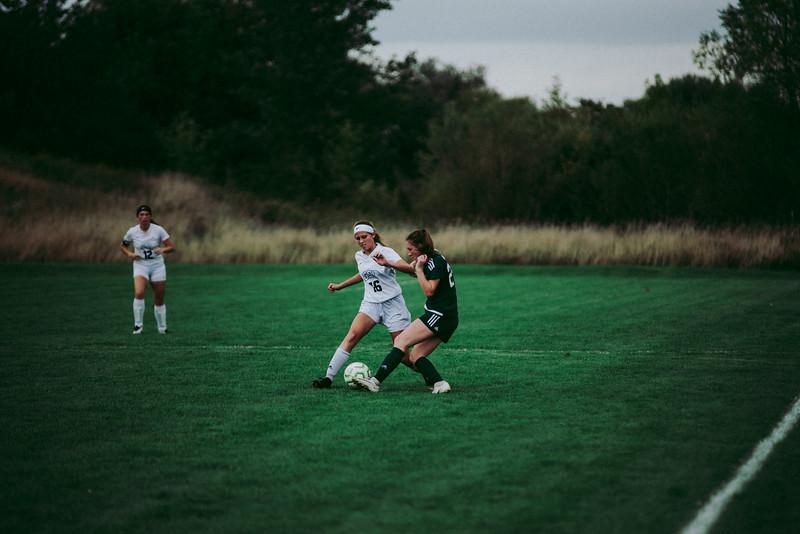 Holy Family Girls Varsity Soccer vs. Glencoe-Silver Lake, 9/24/19: Kate Buchholz '24 (25)