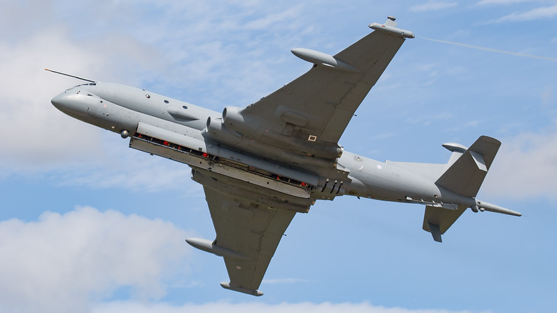 BAe, British Aerospace, Development Aircraft, Nimrod MRA.4, RIAT 2007, ZJ518