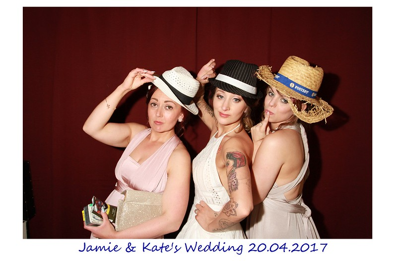 Jamie and Kate Photobooth Photos
