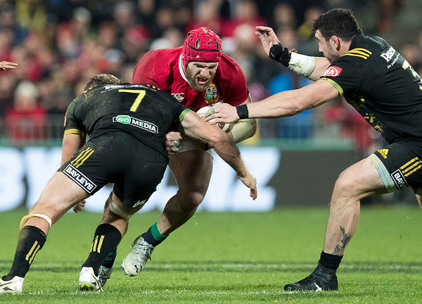 James Haskellduring game 8 of the British and Irish Lions 2017 Tour of New Zealand,The match between  Hurricanes and British and Irish Lions, Westpac Stadium, Wellington, Tuesday 27th June 2017 (Photo by Kevin Booth Steve Haag Sports)  Images for social media must have consent from Steve Haag
