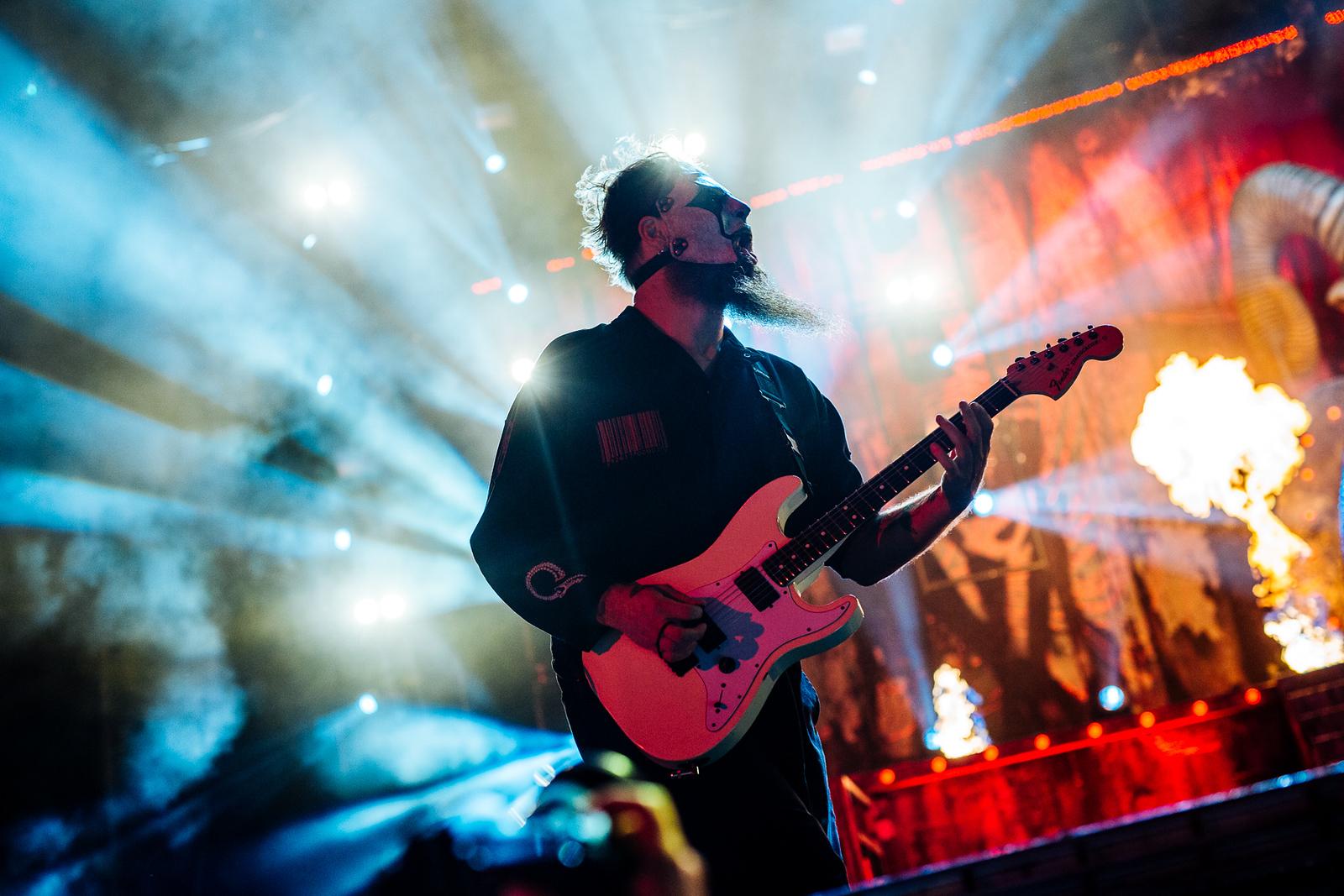 Jim Root of Slipknot by Adam Elmakias
