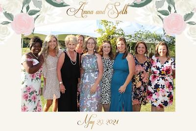 Seth and Anna's Wedding-5/29/2021