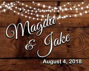 04-08-2018 ~ Magda and Jake Wedding