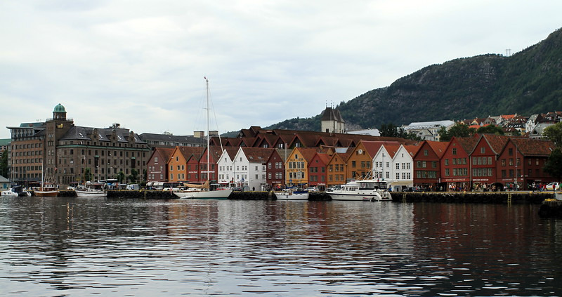 Bryggen views