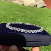 10.50ctw Round Brilliant Diamond Tennis Bracelet 14