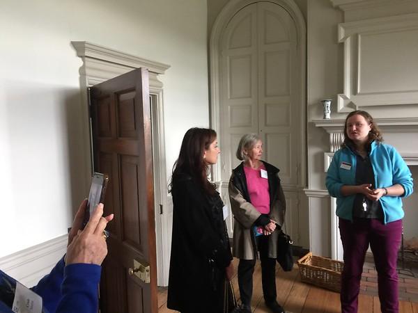 10/13: Gunston Hall Visit with Paulette Morant