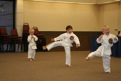 Zachary's Tae Kwon Do Test