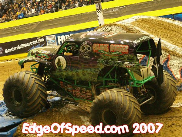 Monster truck race 2/25/07