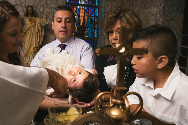 Monika baby baptism