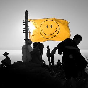 Mission Peak Smiley Face