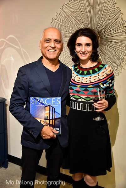 Zahid Sardar and Adele Salierno