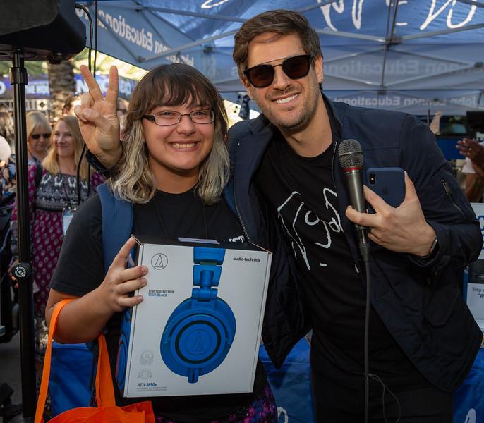 2019, Anaheim, Audio-Technica, CA, Giveaways, Matthew Reich, NAMM, Tents