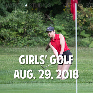 Prairie Girls Golf 8-29-2018