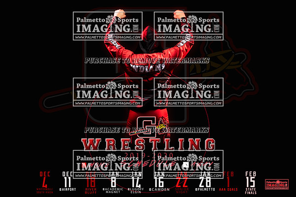 Gilbert Wrestling 2019-2020 schedule posters