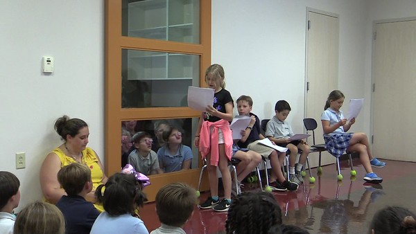 "2nd grade Robert Munsch play ""Pigs"" - Ms. Kate's class"