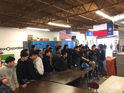 2019 Welding Field Trip to the Oceans Corporation