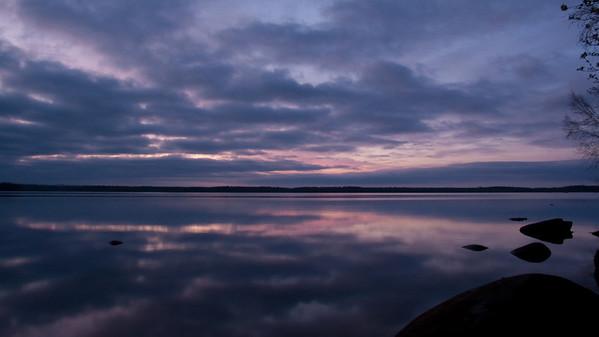 Kanotpaddling Bolmen, Sweden, 2010