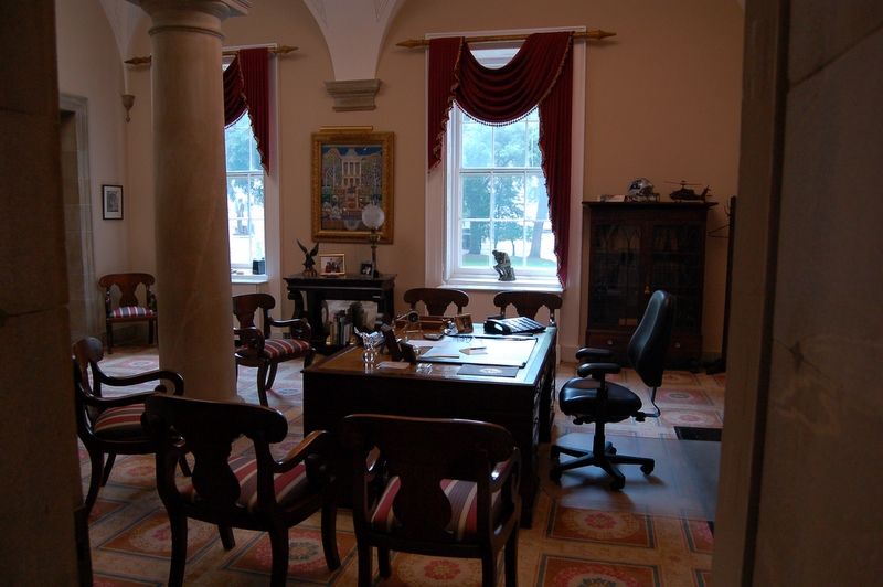 Governor's Office in the old State Capitol