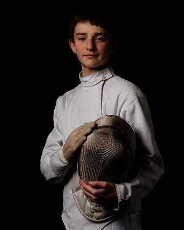 2019-02-24 Alex Fencing Portraits
