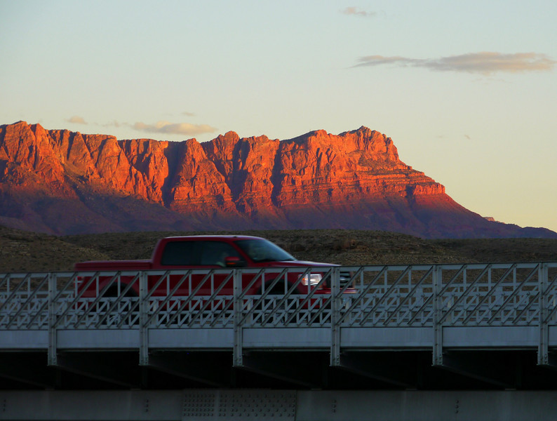 The night before departure - Navajo Bridge