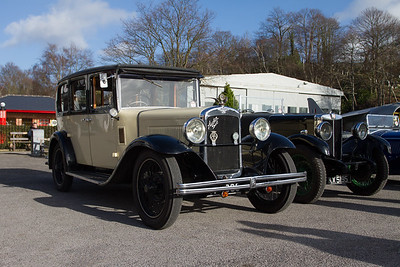 Vintage Sports-Car Club Driving Tests 2014 - Brooklands Museum