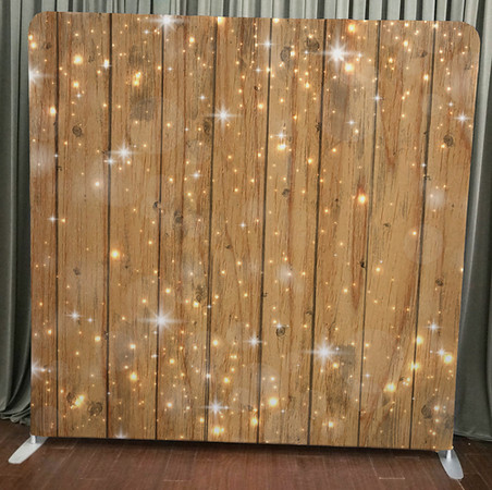 Sparkles on Wood