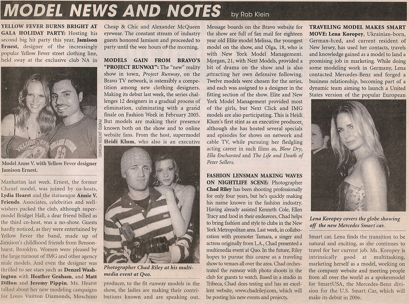 SHOW BUSINESS WEEKLY | DEC. 2004