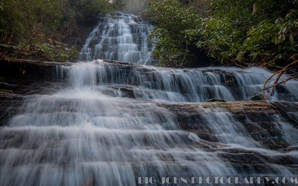 The Chattooga River, Ellicott Rock Wilderness @ Spoonauger Falls S.C.12-5-15