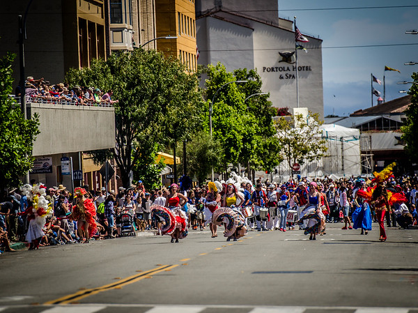4th of July Parade Samba Legal 2015