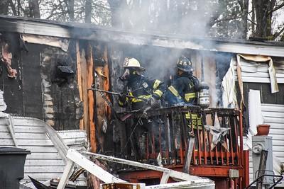 North Fayette structure fire Redwood Estates