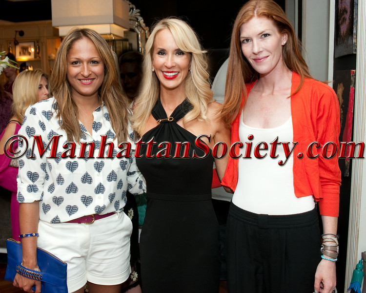 TRACY STERN  Hosts Cocktail & Iced Tea to Celebrate the Launch of TEA & CO. on the Upper East Side of Manhattan