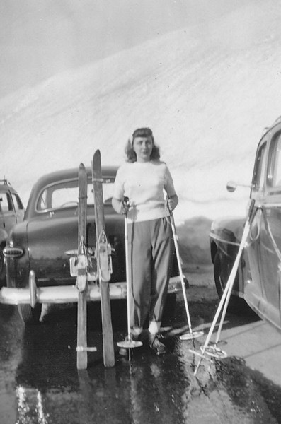 Norma Jean, 1949 Snoqualmie Pass