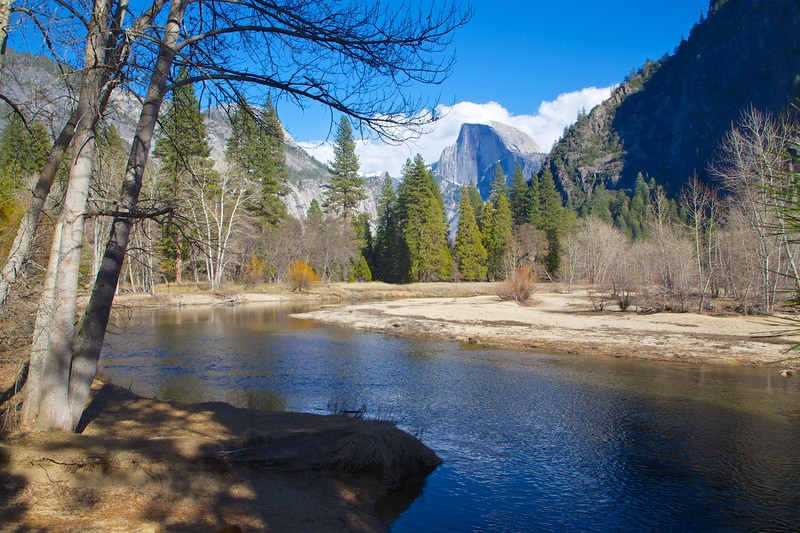 YOS-140225-0006 Merced River and Half Dome